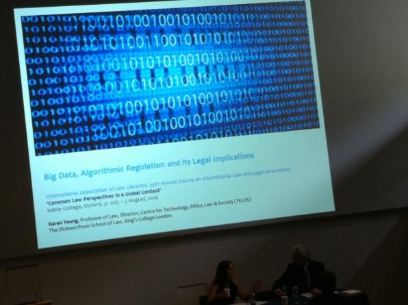 Big Data, Algorithmic Regulation and its legal aspects