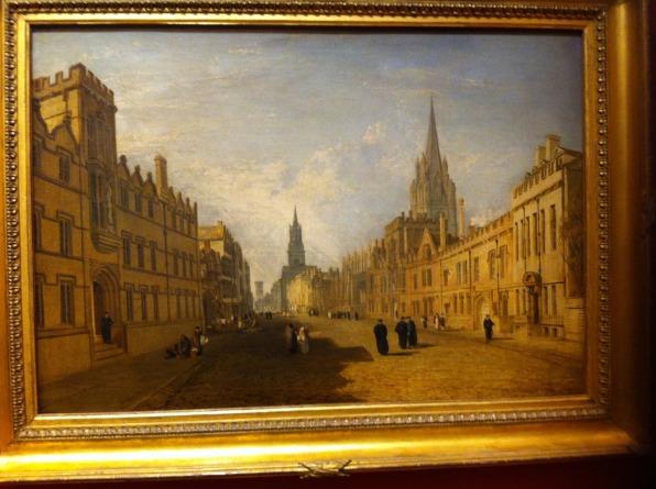 Oxford street life. Ashmolean Museum