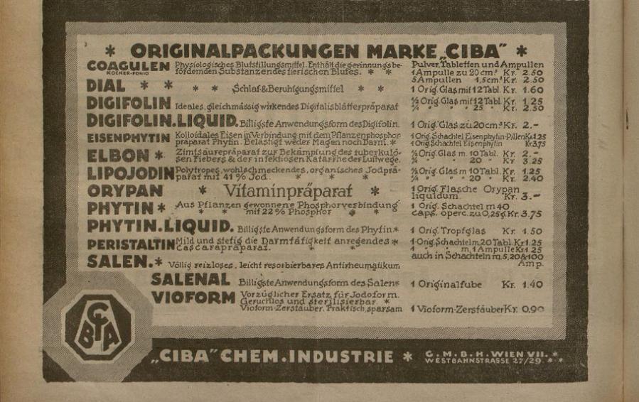 Pharmazeutische Presse 1917